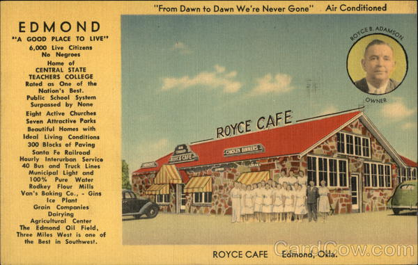 Royce Cafe Edmond, OK
